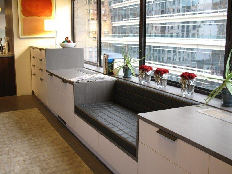 Dawanda Kücheninsel ~ die sitzecke besteht aus einer sitzbank zwischen schränken sitzbank pinterest sitzecke