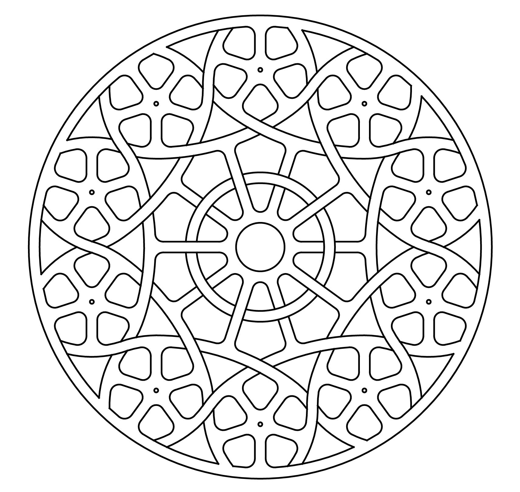 celtic knot-work lute rosette by Peter Mulkers | Crafts | Pinterest ...