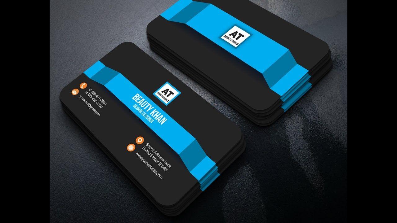 GraphicRiver Business Card Design Tutorial ~ illustrator Card Design ...