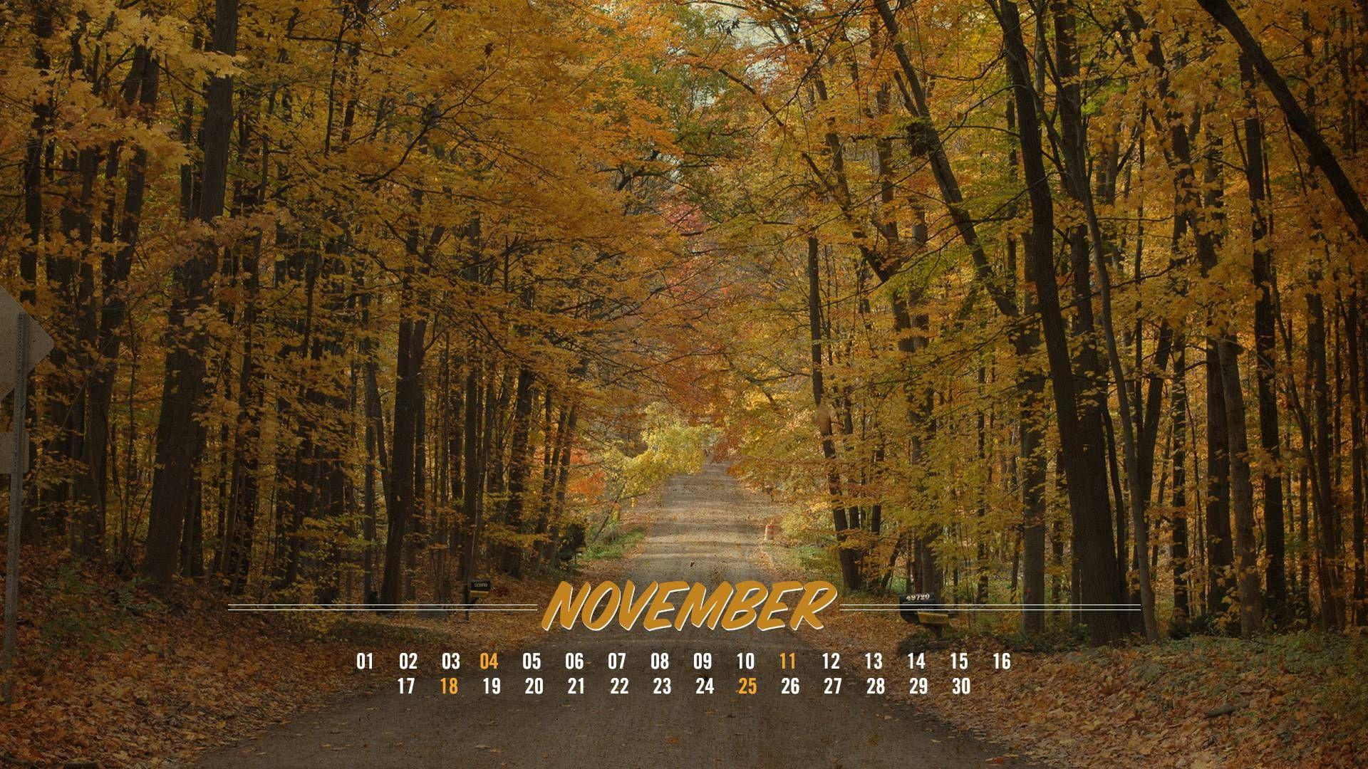 November Desktop Background Page 2048×1356 November