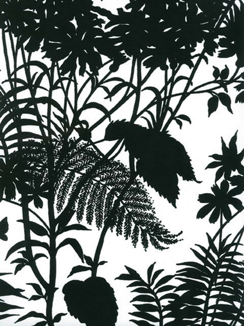 Shadow Floral by Florence Broadhurst