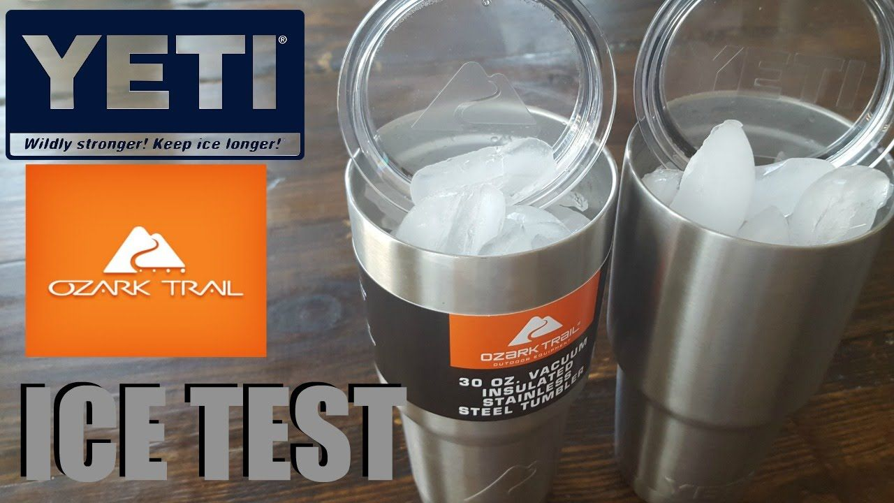YETI vs OZARK TRAIL ICE TEST 30 HOUR RESULTS | My Style