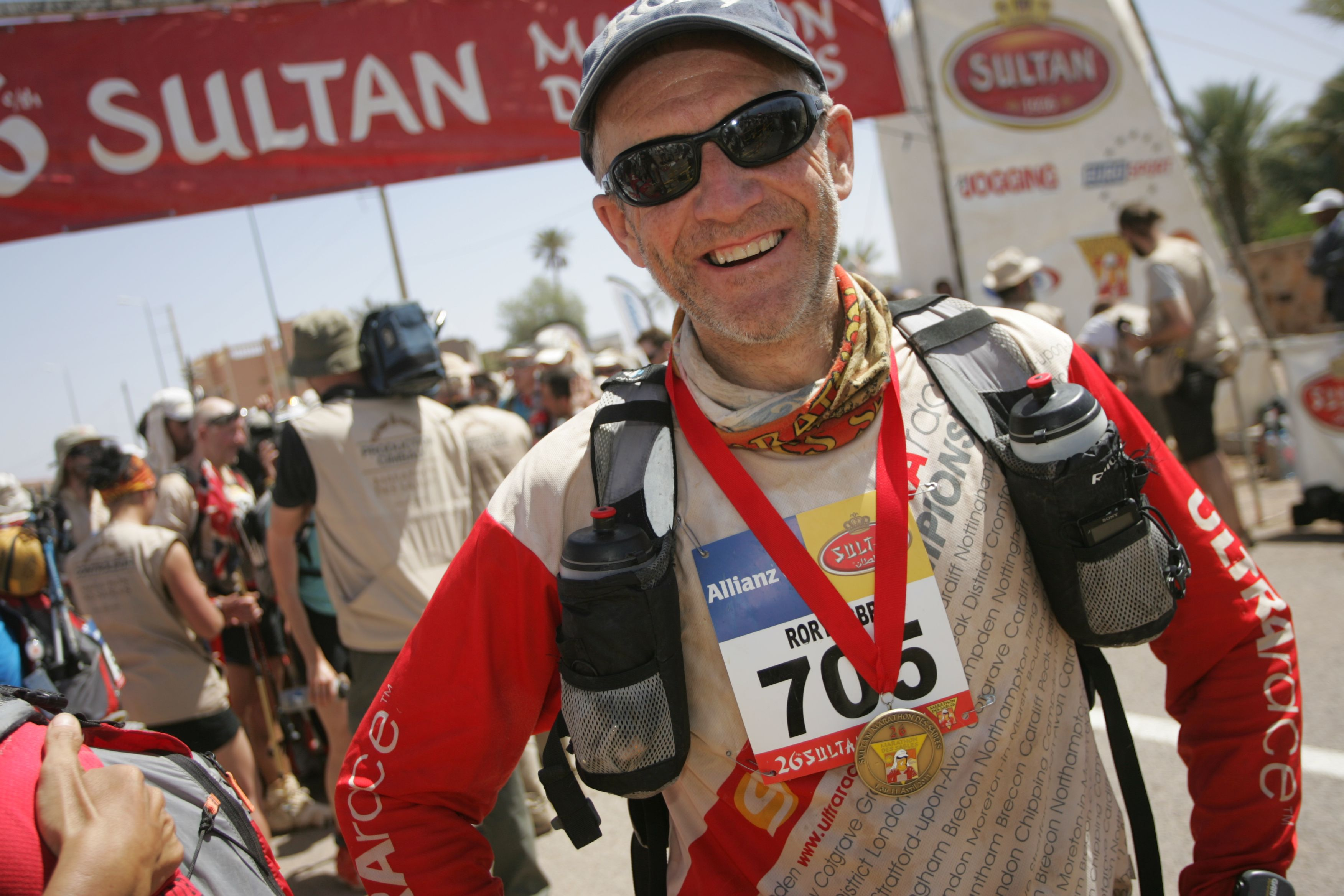 Finish of the 2011 MdS...