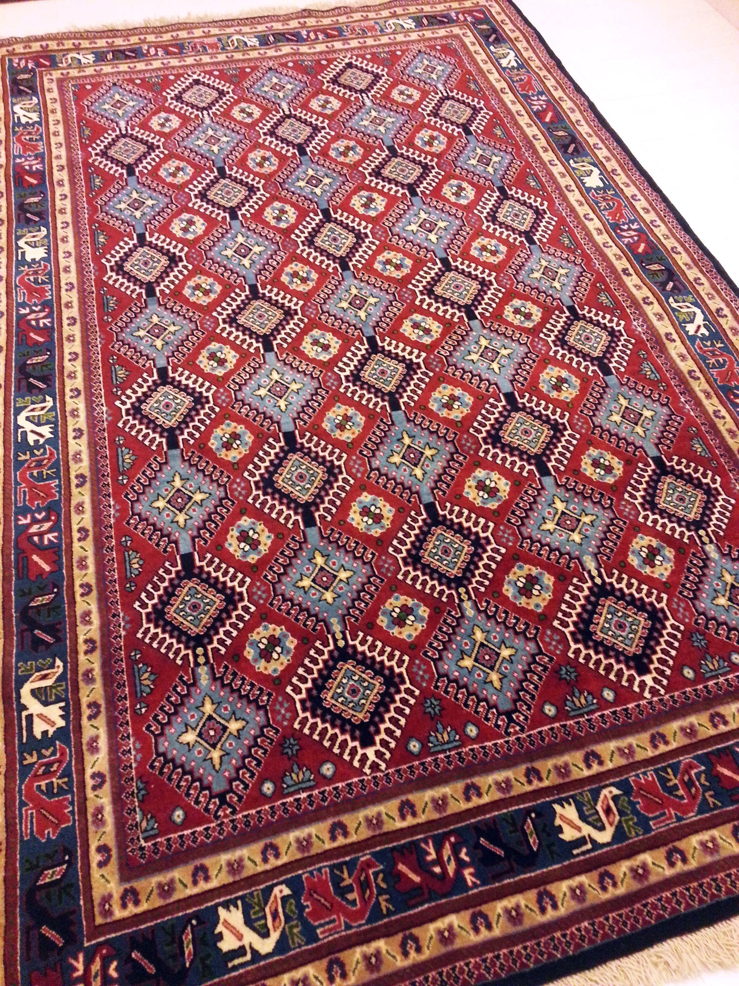 Yalameh, tappeto persiano annodato a mano 240 x 150 cm (1100 euro)