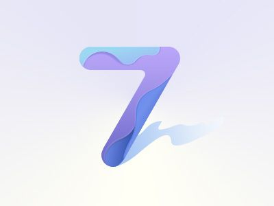 My lucky number on Behance