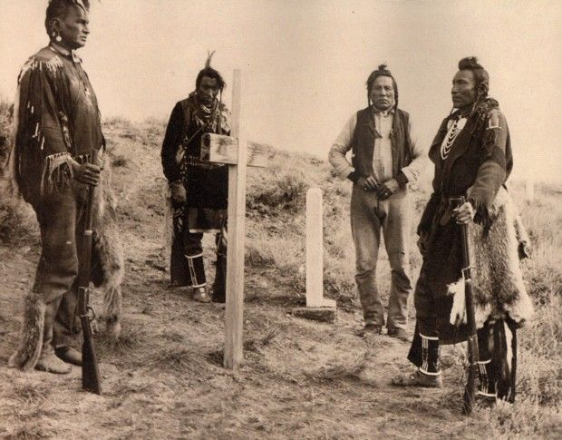 Crow scouts play part in Little Bighorn Battle