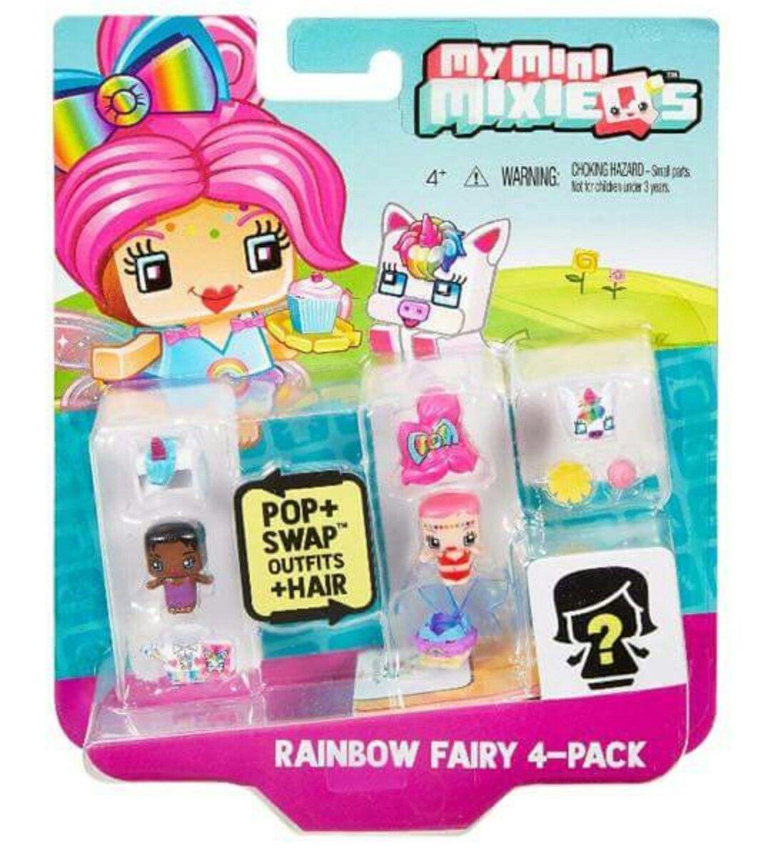 My mini mixieqs 4 pack rainbow fairy