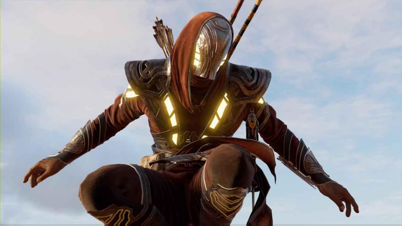 Assassin S Creed Origins Isu Armor Location Secret Outfit