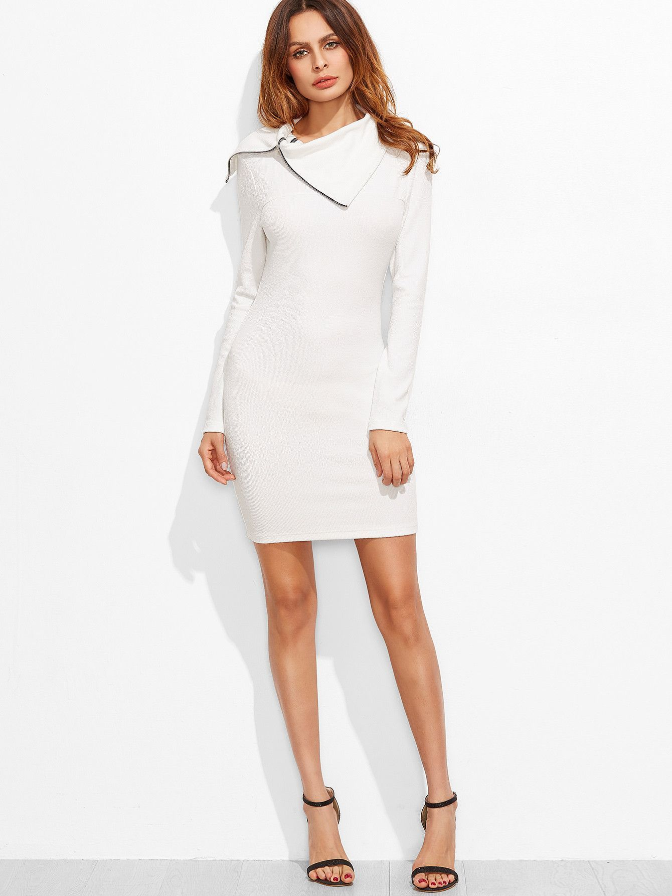 3b905e856cd white bodycon dress