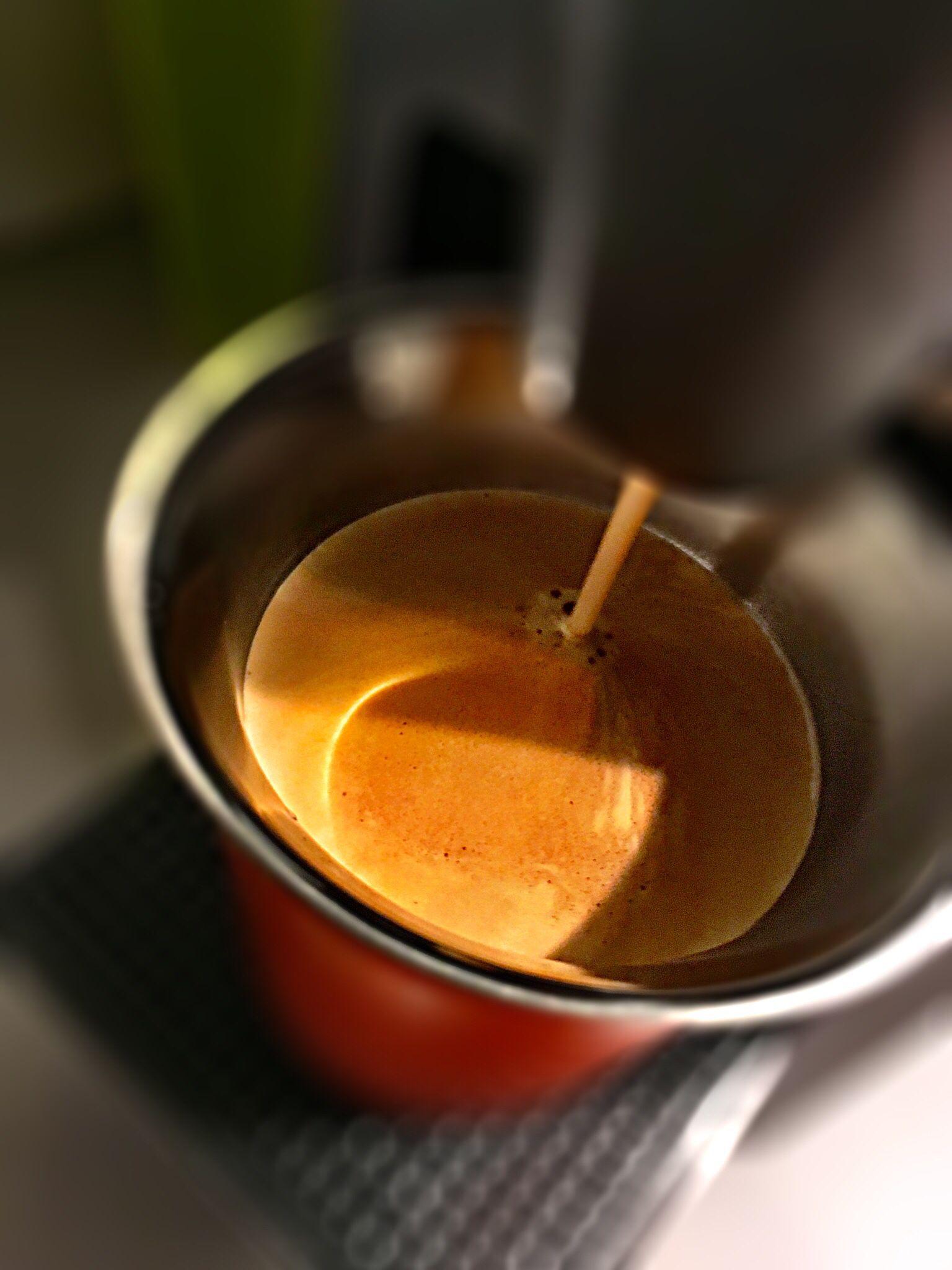 Guten Morgen…damit ihr einen guten Start in die Woche habt hier ein #Arpeggio #Kaffe von @Nespresso