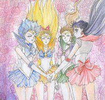 Sailor Scouts by ~Dark-elfa on deviantART