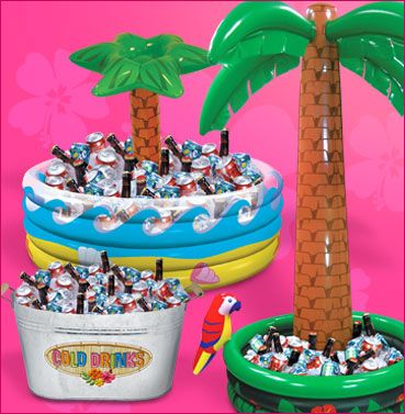 Adult 50th Tropical Pool Party