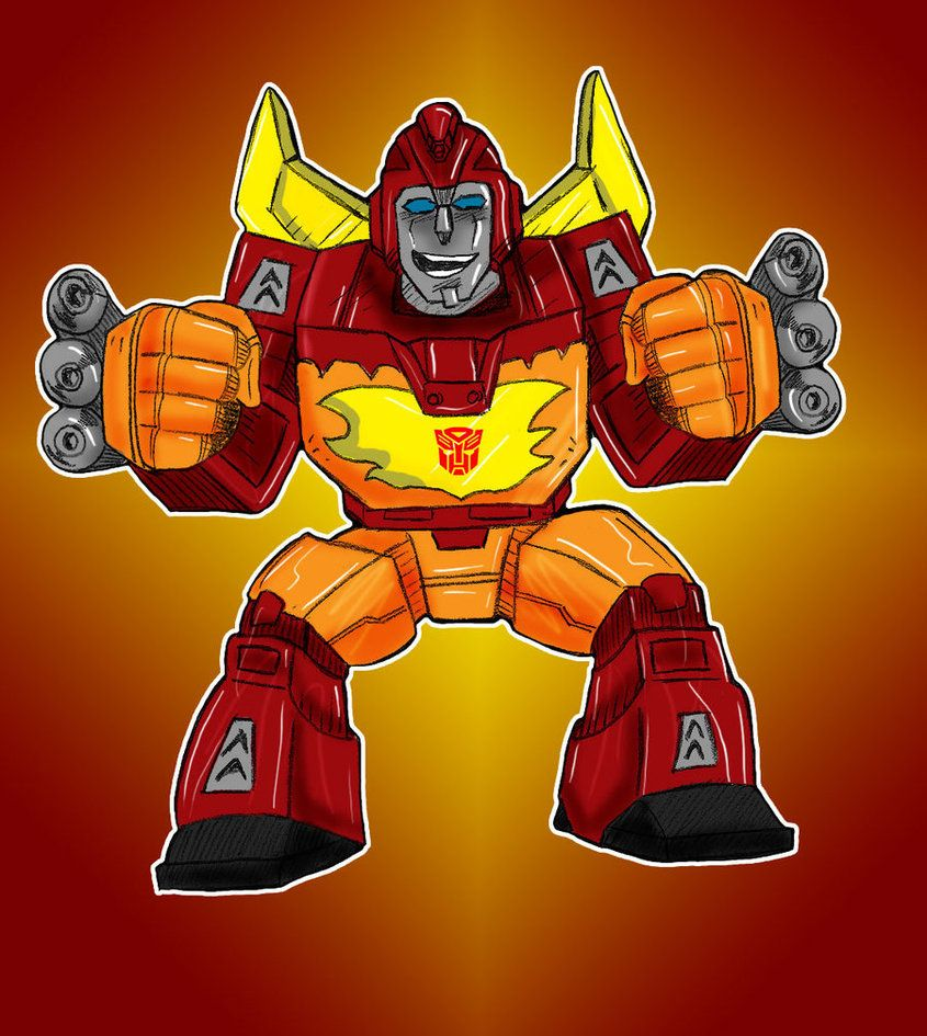 Robot Heroes Hot Rod Color Hot Rods Hero Transformers Toys