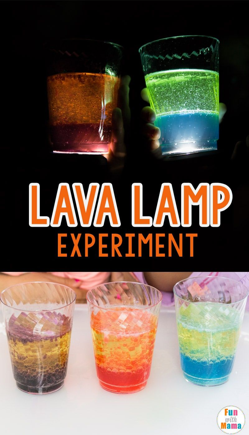 How To Make A Lava Lamp Experiment