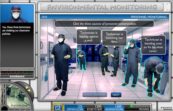 NCCCS VLO eLearning Simulation Example - Course Sample 3 ...