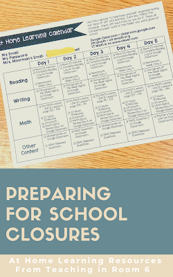 Preparing for At Home Student Learning
