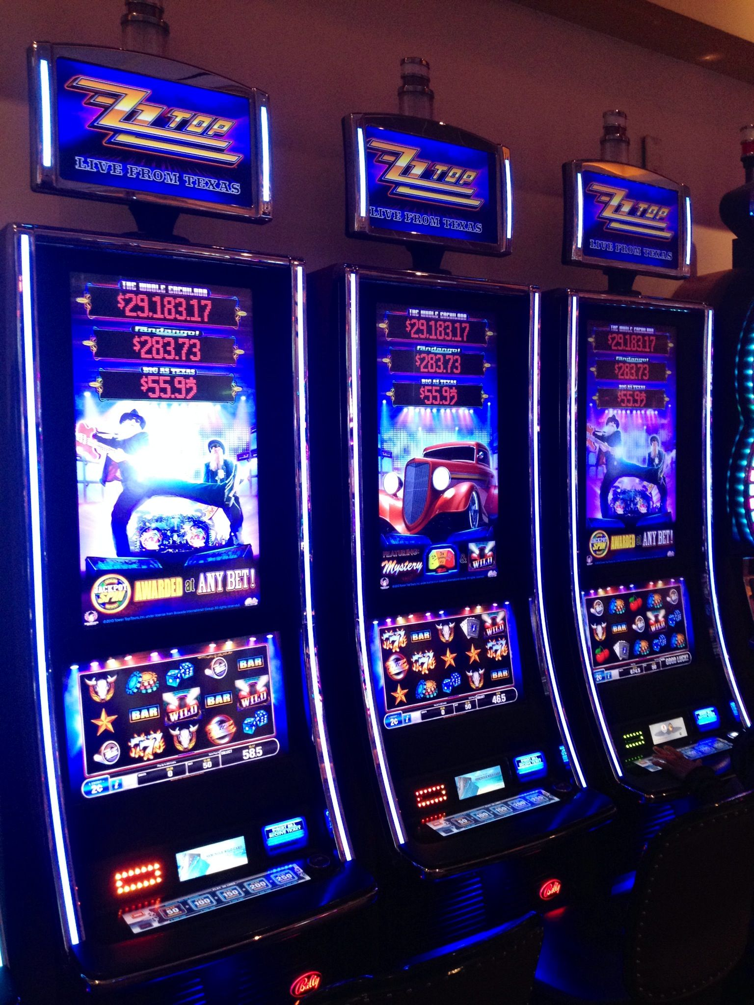 Zz top online slot machine slotted draincoil