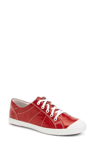 be8b5fe165d06 Josef Seibel  Lilo 13  Leather Sneaker (Women) available at  Nordstrom  Silver
