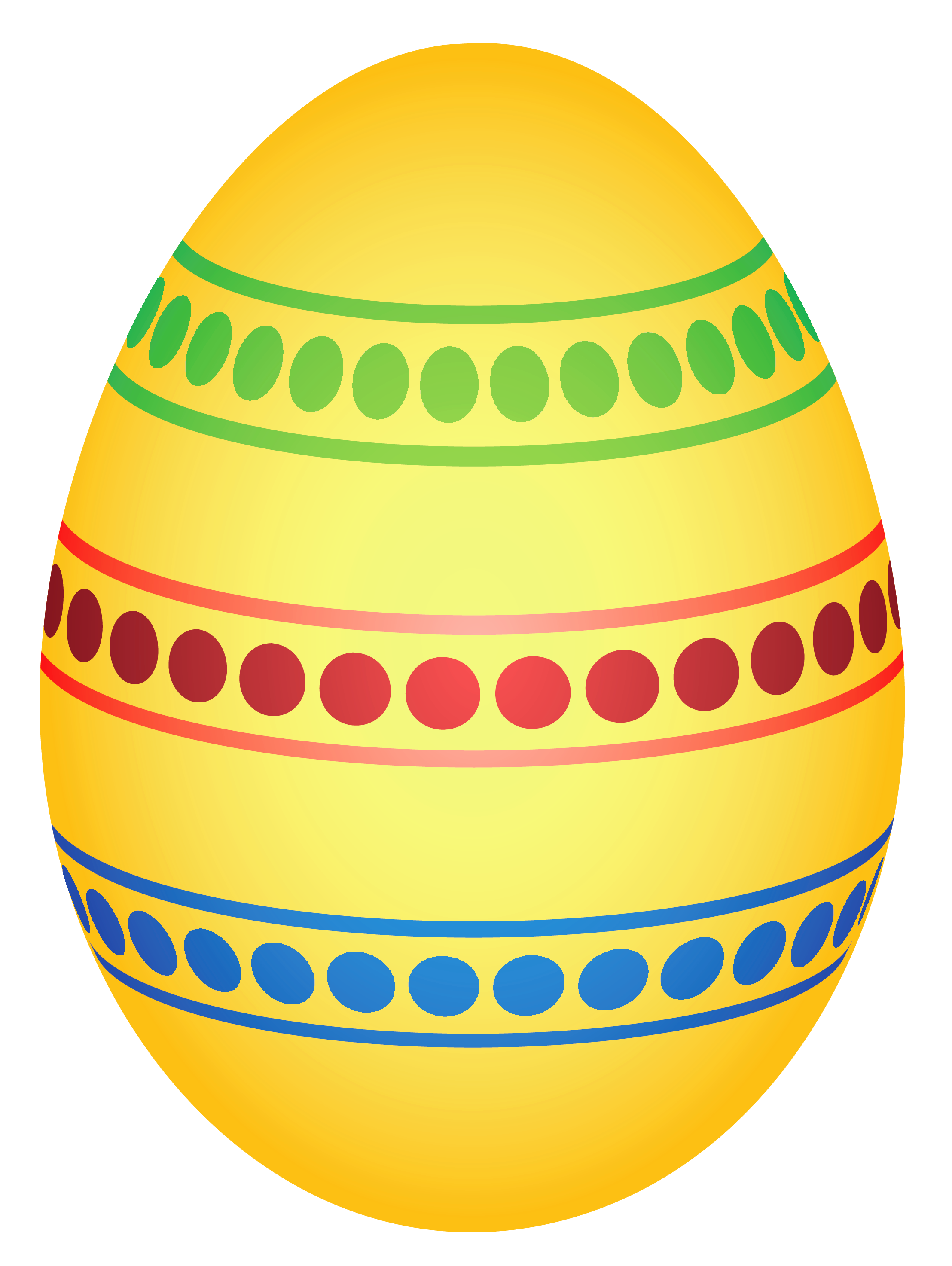 Yellow Colorful Dotted Easter Egg Png Clipairt Picture Easter Egg Pictures Easter Eggs Easter Clipart