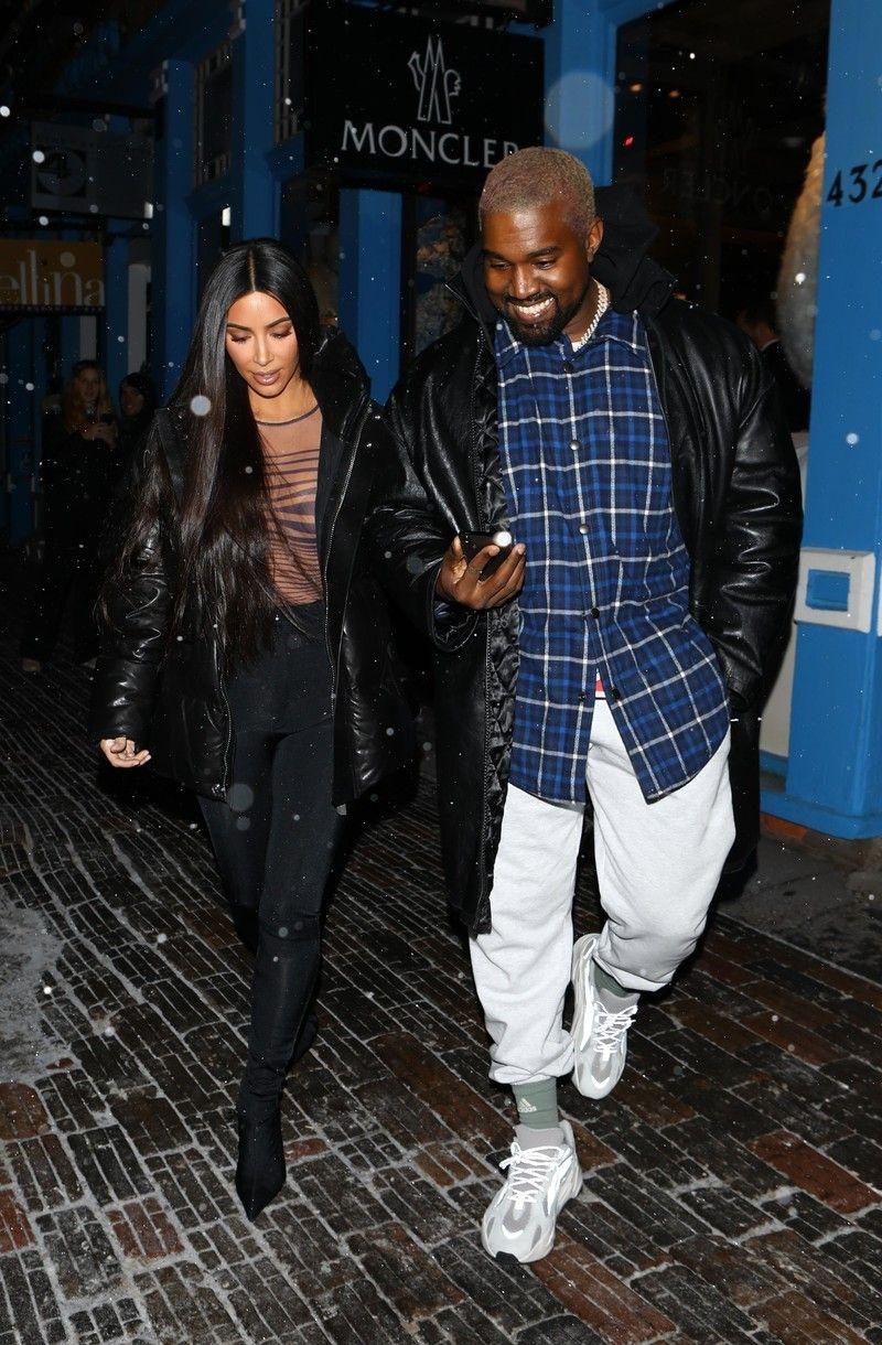 Kanye West Aspen 2018 12 30 Kanye West Style Kanye West Large Men Fashion