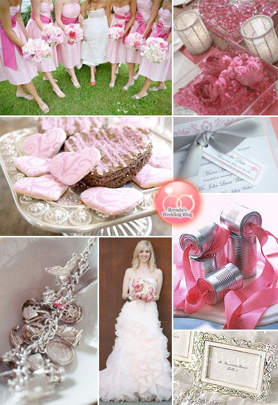 Pink And Silver Weddings Weddings Wedding And Pink Silver Weddings