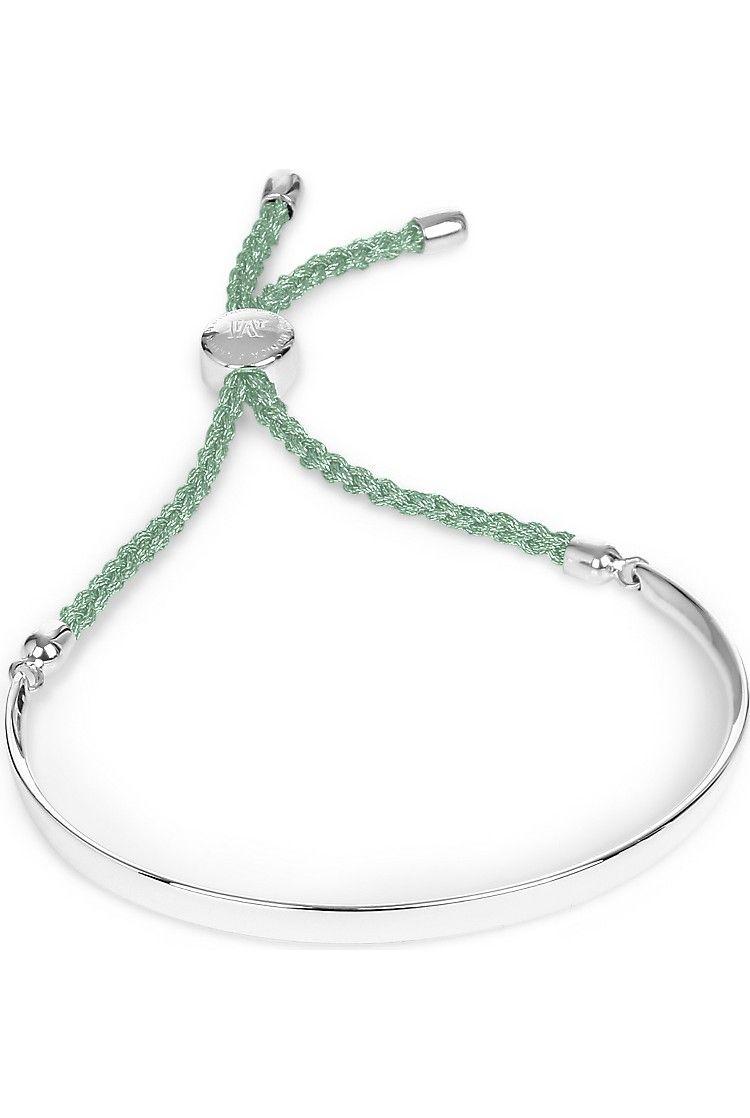 d2645e89f55667 MONICA VINADER - Fiji sterling silver friendship bracelet | Selfridges.com