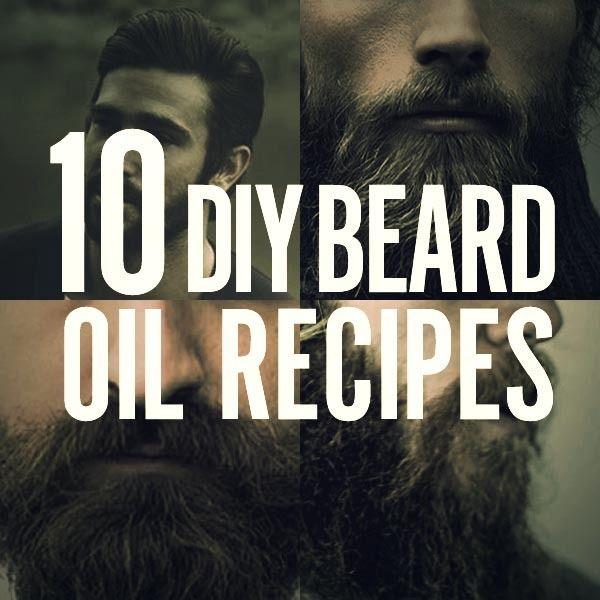 10 Homemade Beard Oil Recipes My Style Homemade Beard Oil Diy
