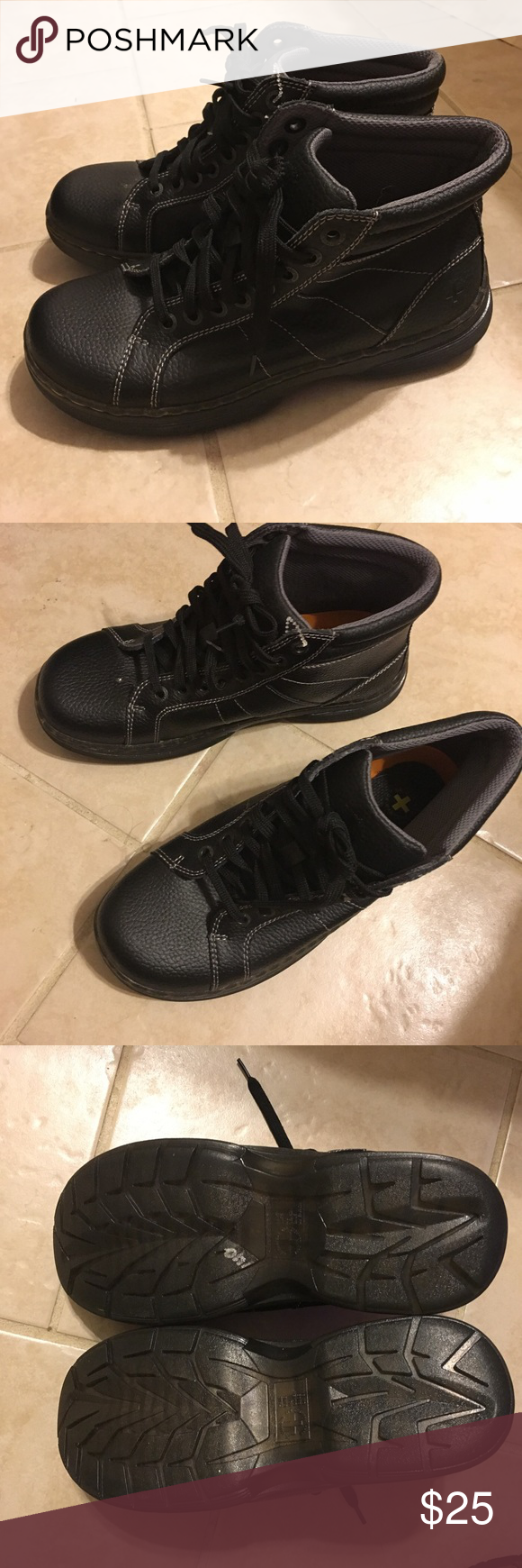 Dr. Marten Boots. Never worn, wife ordered and didn't wear. Priced to get out of the closet! Dr. Martens Shoes Combat & Moto Boots