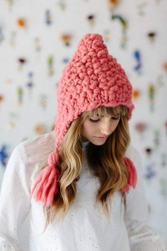 Free Bird Hoodie Hat Pattern Knit Collage Hats Pinterest