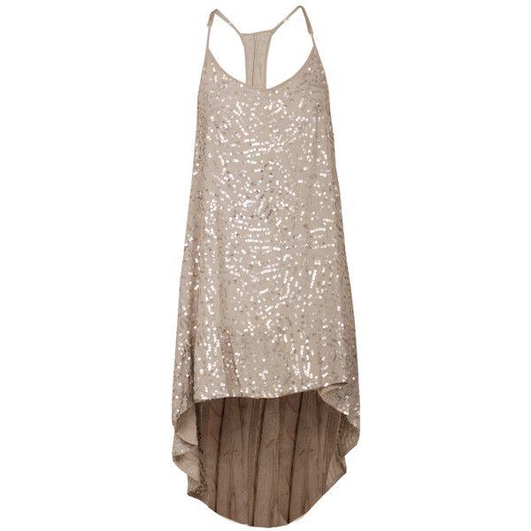 Shakuhachi lace trim racerback dress