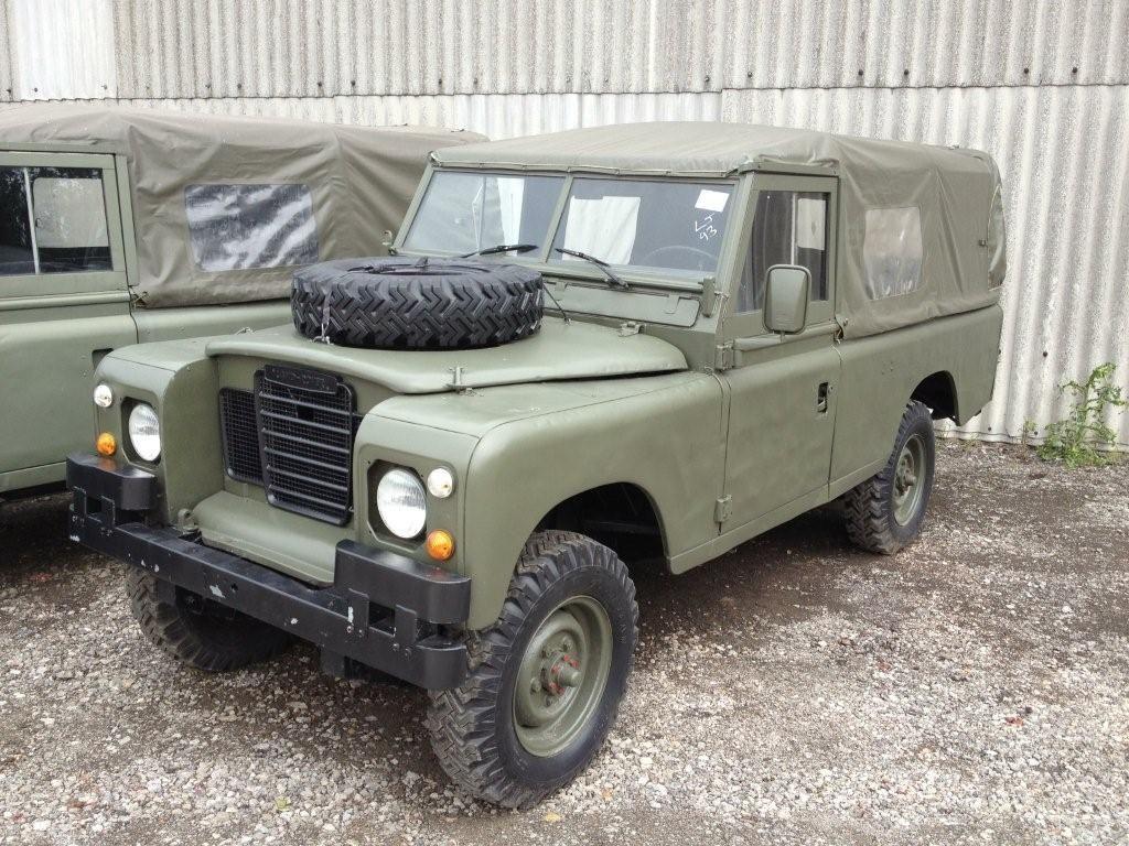 Land rover series 3 109 petrol 11517 ex army uk ex