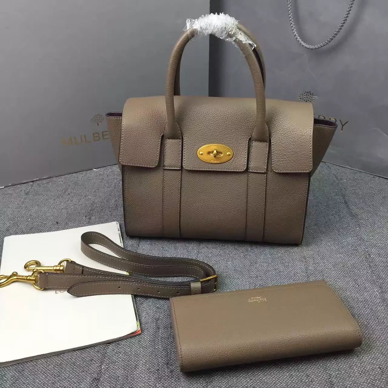 New Edition 2017 Mulberry Handbags Collection Outlet Uk Small Bayswater Dune Classic Grain