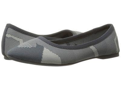 SKECHERS - Cleo Wham (Charcoal/Grey) Women's Slip on  Shoes