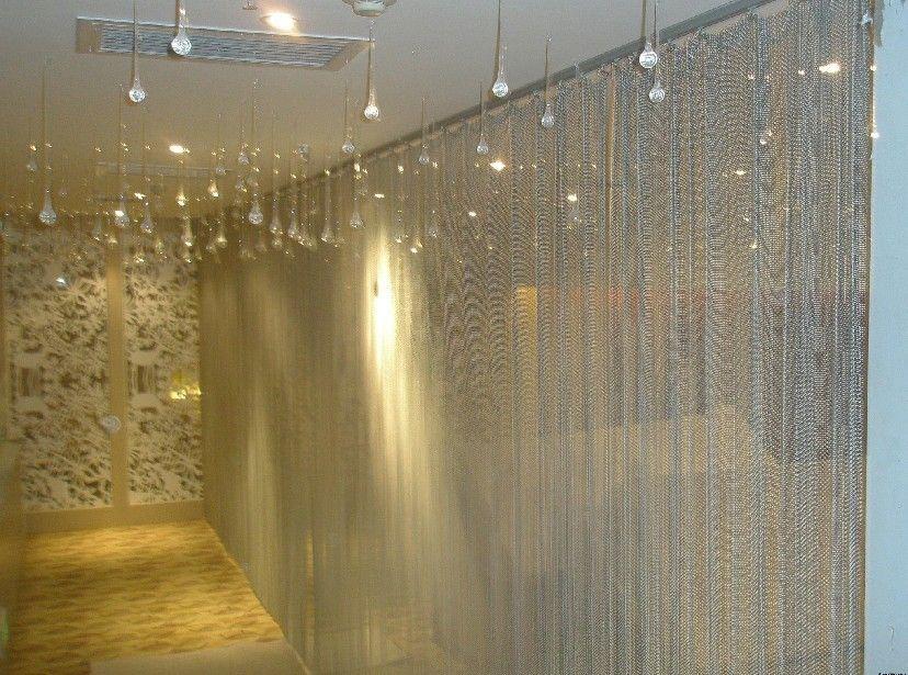 ball chain curtain metal bead chain