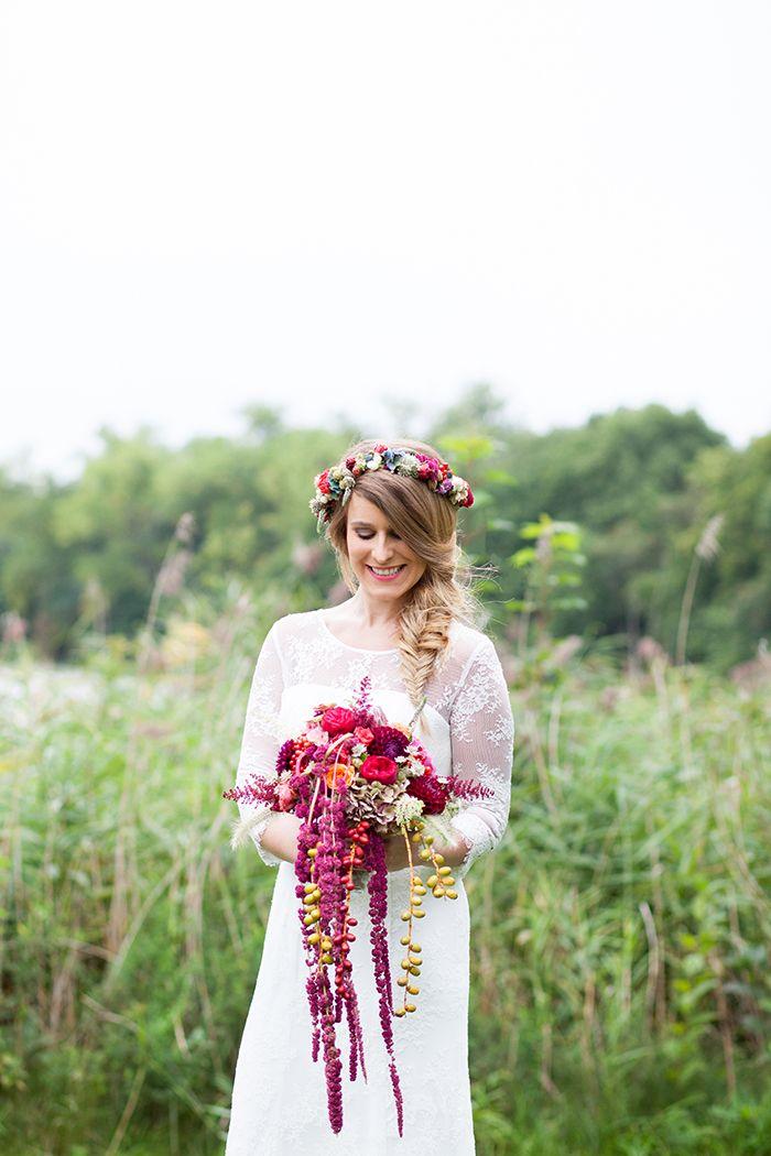 Natürliche Hochzeitsinspiration für den Herbst | Anzug herren ...