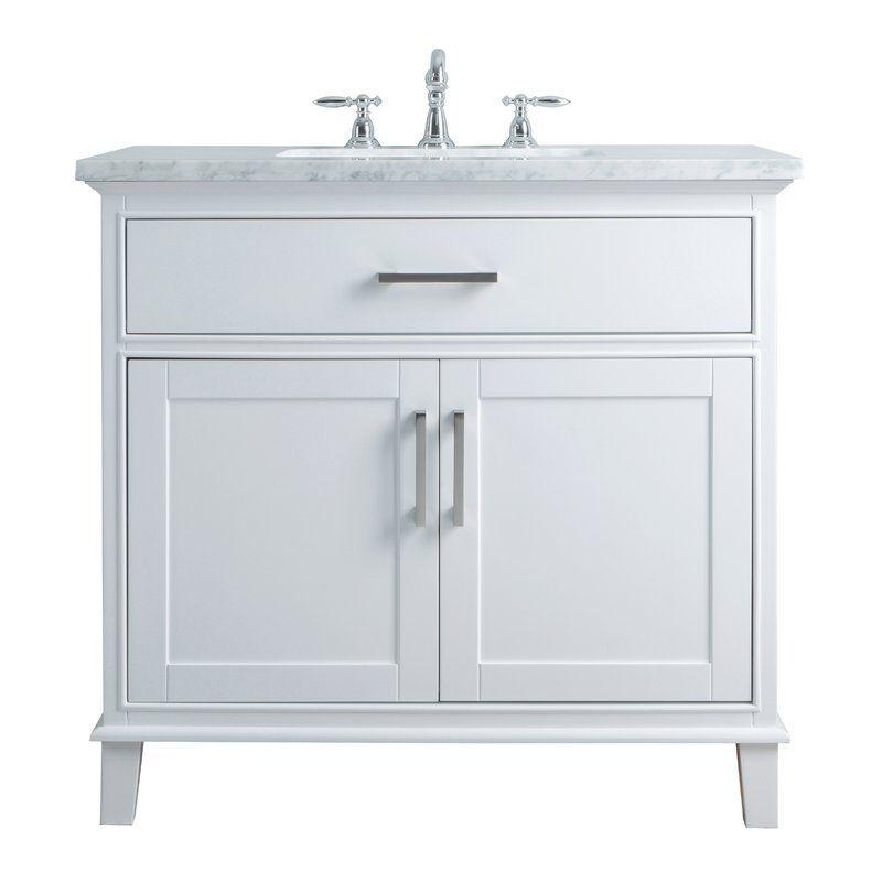 Caudill 36 Single Bathroom Vanity Set With Images Single Sink