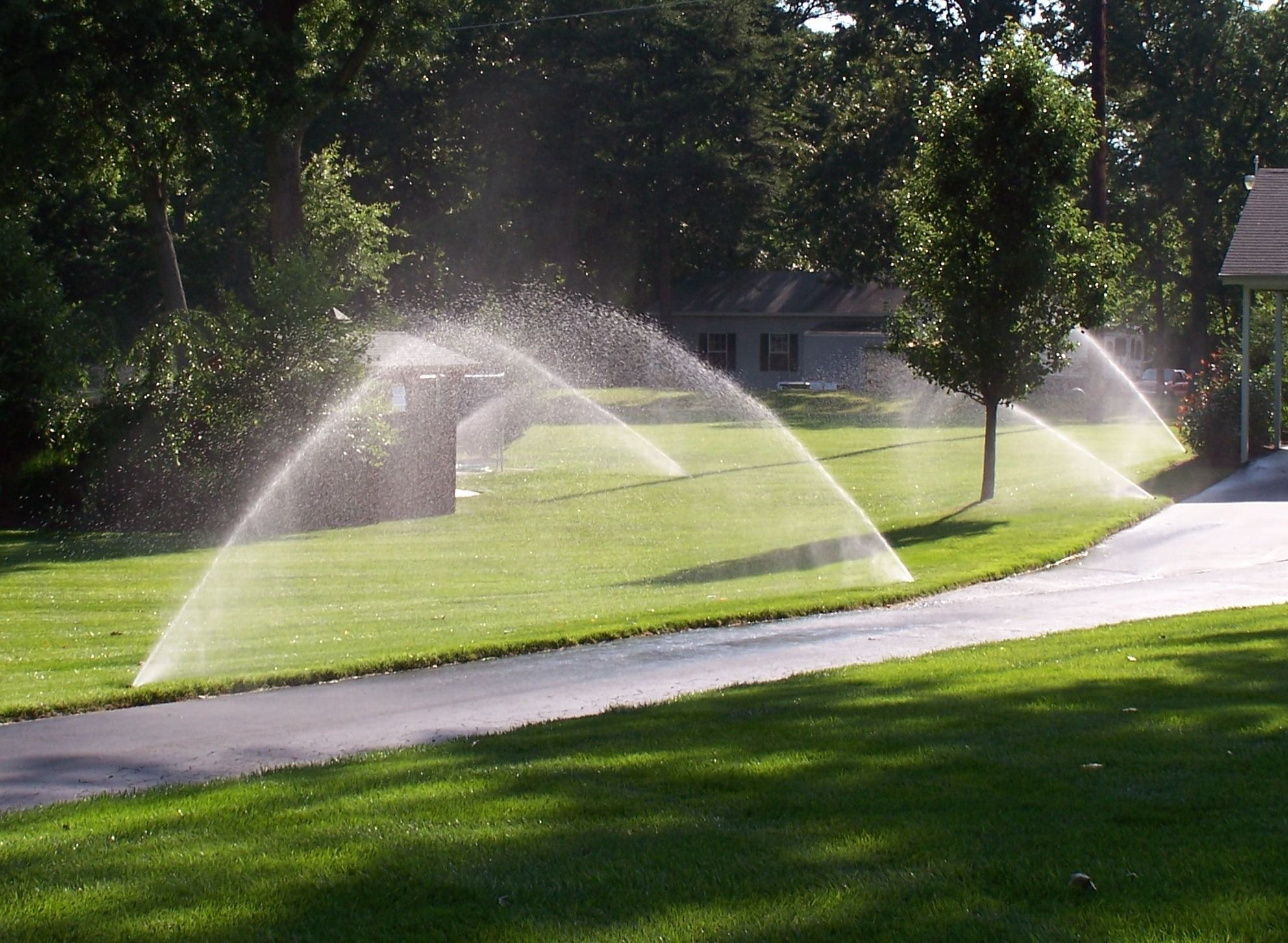 when putting in a sprinkler system how do you measure the