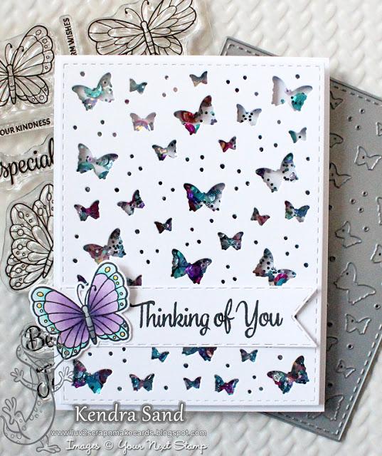 Butterfly Background, Diy Scrapbook