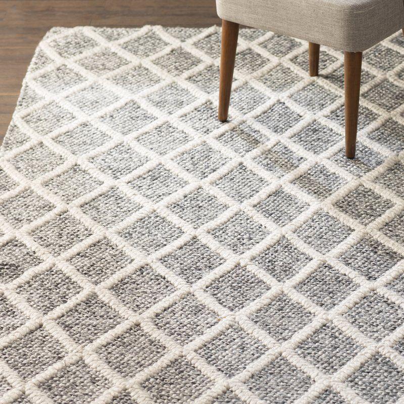 Billie Geometric Handmade Flatweave, Farmhouse Style Kitchen Area Rugs
