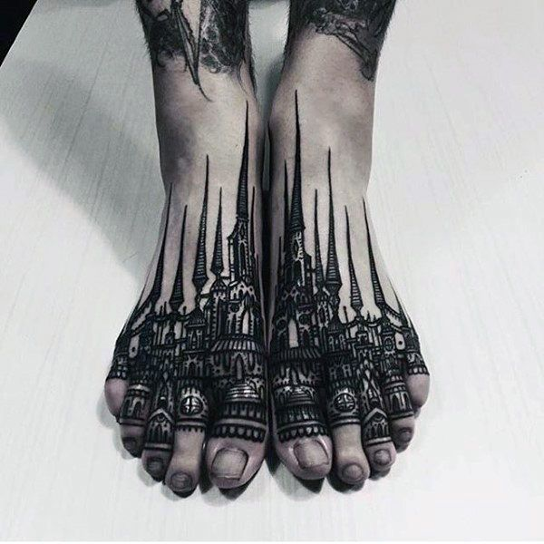90 Foot Tattoos For Men – Step Into Male Design Ideas – Man Style | Tattoo