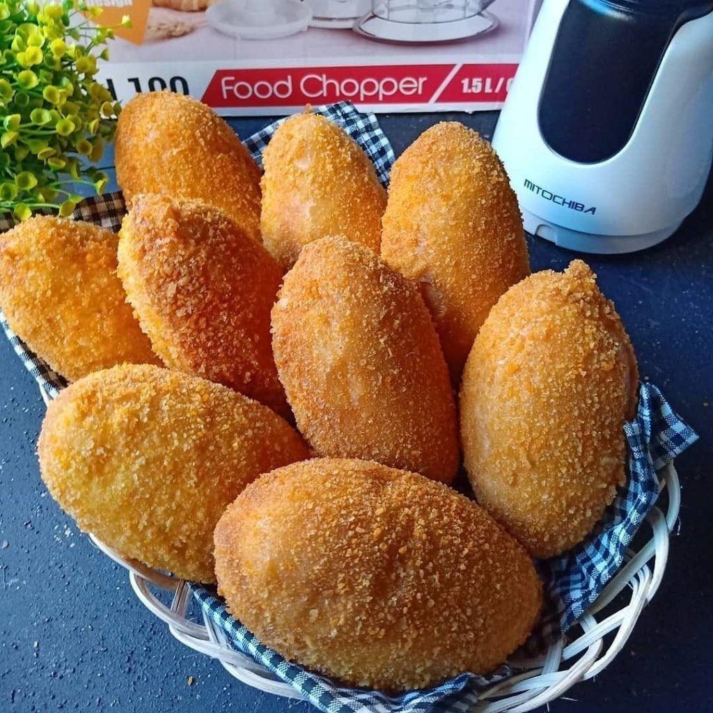 Resep Roti Goreng Isi Daging Ayam Resep Roti Cemilan Resep