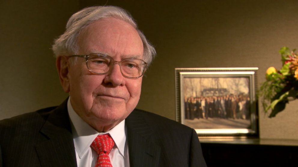 World's Wealthiest Donate Billions Through the 'Giving Pledge' PHOTO: Warren Buffett interviewed by ABCs Rebecca Jarvis.