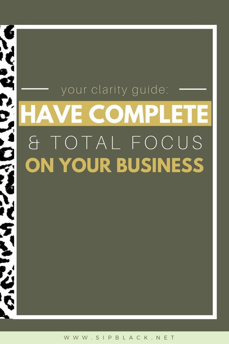 7 Rules if you want to gain clarity and traction in your business as an entrepreneur. Not sure what to do next or where to go next- This guide is for you!