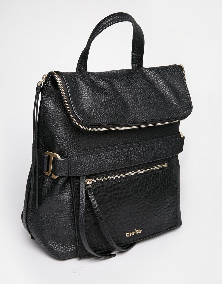 calvin klein calvin klein cecile backpack at asos bags pinterest backpacks bag and. Black Bedroom Furniture Sets. Home Design Ideas