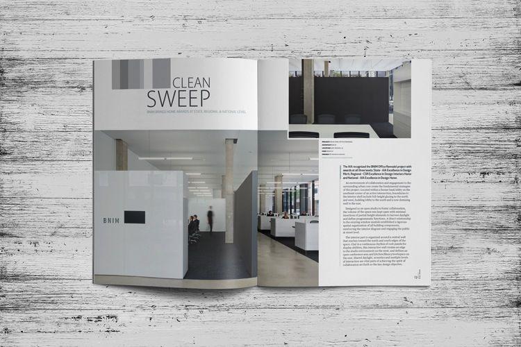 Good Iowa Architect Magazine Layout U0026 Design | Dlouhy Branding + Design