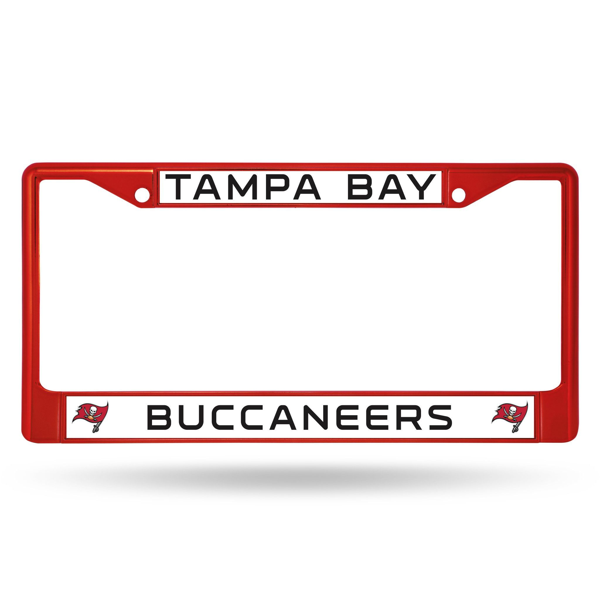 Tampa Bay Buccaneers Metal License Plate Frame - Red