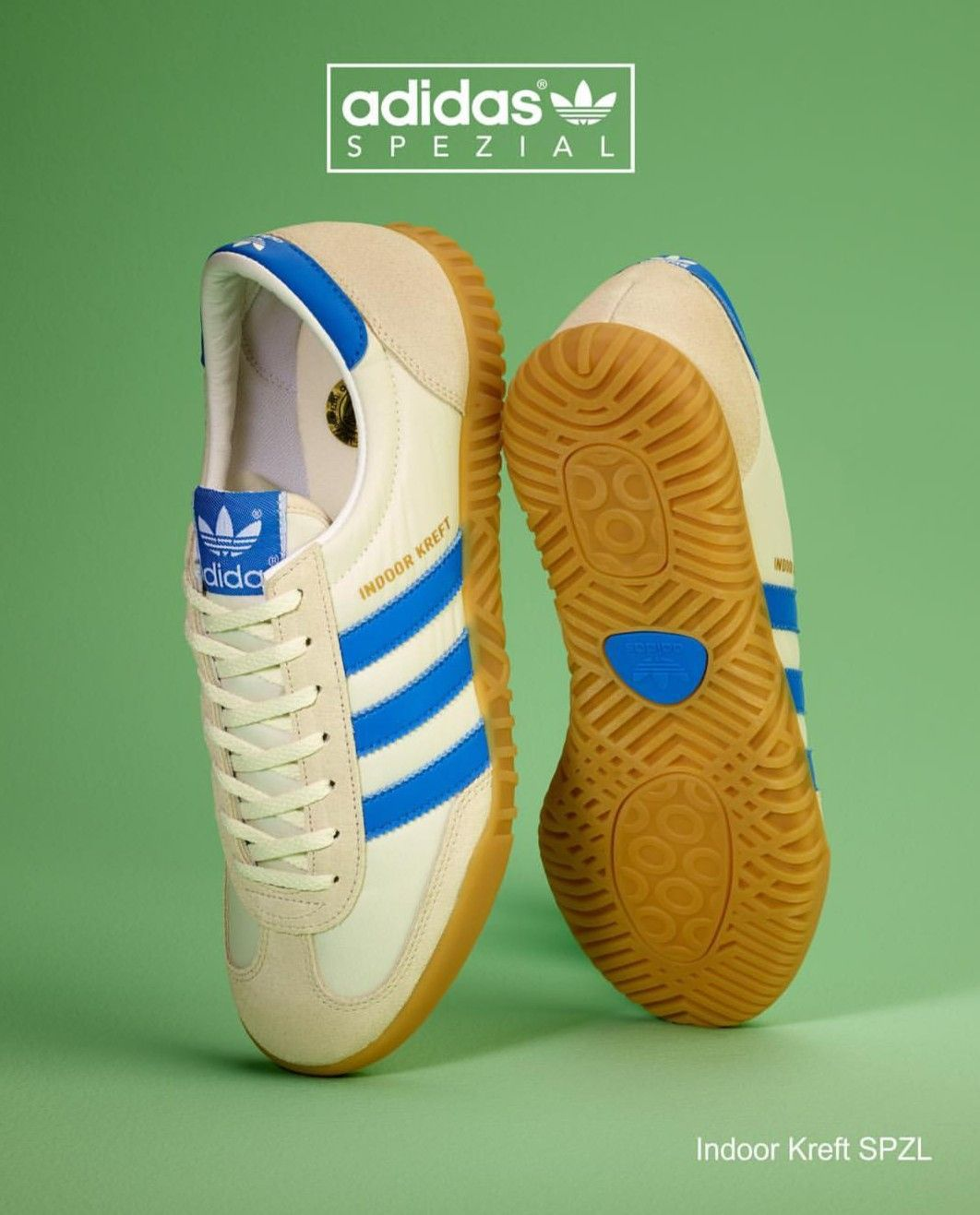 f4870a724cd Adidas Indoor Kreft from the new 2018 Spezial range launching in March.