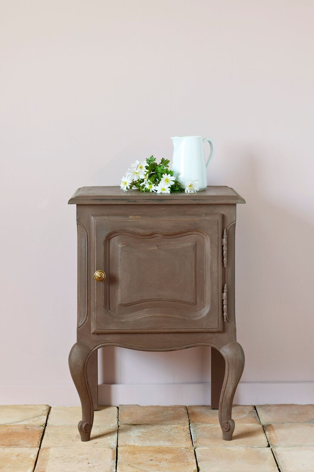 Gorgeous small table painted with the NEW