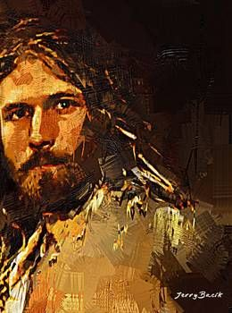 """Conteporary Jesus"" by Jerry Bacik Jesus Is Lord, Jesus Christ, Savior, Pictures To Draw, Bible Pictures, Jesus Heals, Jesus Art, In Christ Alone, Sacred Art"