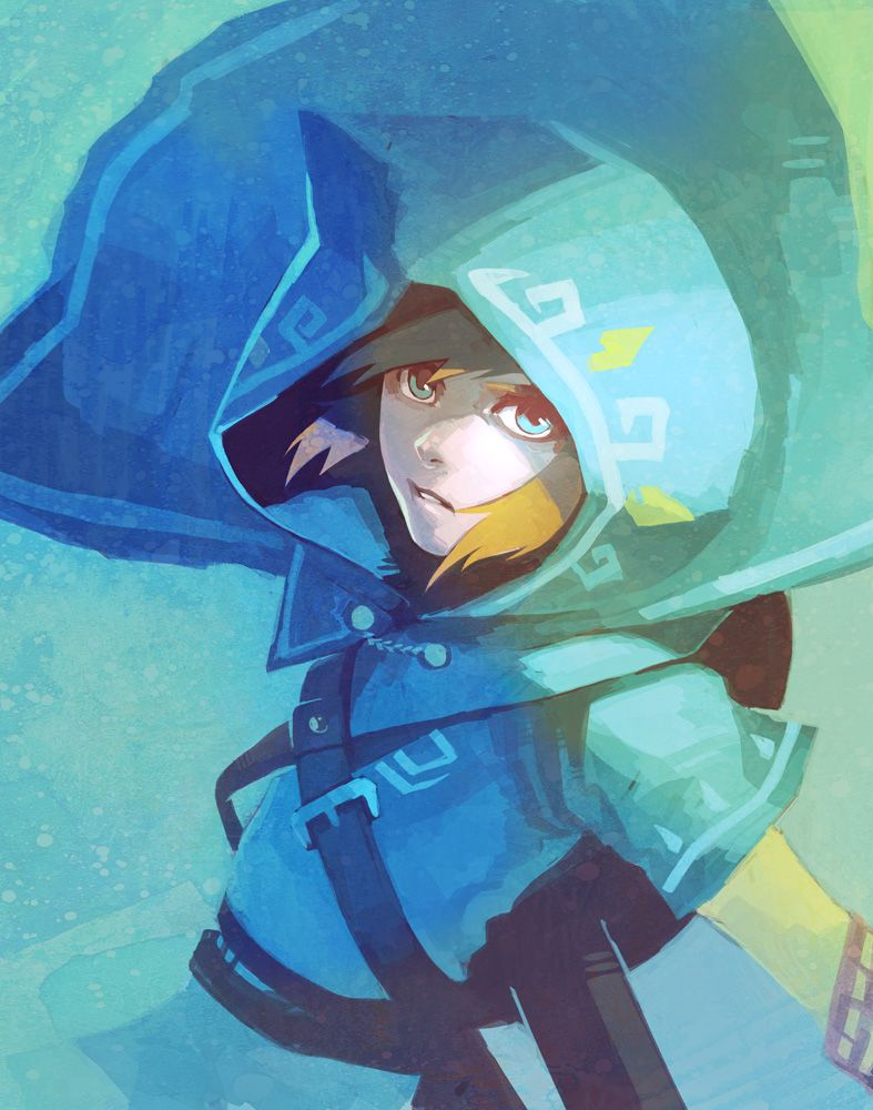 BotW Link by ai-eye | Legend of Zelda | Legend of zelda ...